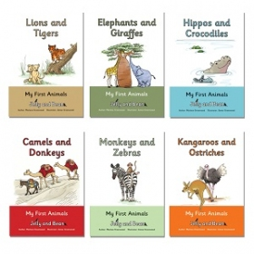 Jelly and Bean (Follifoot Farm): My First Animals Series (6 books)