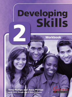 Developing Skills 2 Workbook with audio CDs