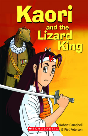 Scholastic ELT Readers Starter Kaori and the Lizard King with CD