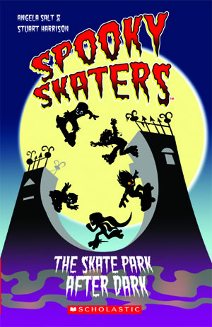 Scholastic ELT Readers Starter Spooky Skaters: The Skate Park After Dark  with CD
