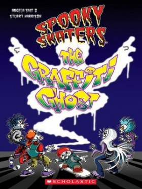 Scholastic ELT Readers Level 1 Spooky Skaters: The Graffiti Ghost (with CD)