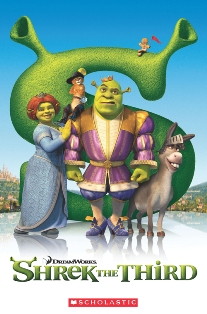 Scholastic Popcorn Readers Level 3 Shrek 3 (with CD)