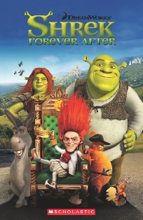 Scholastic Popcorn Readers Level 3 Shrek Forever After (with CD)
