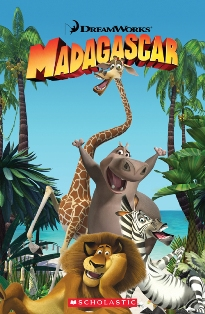Scholastic Popcorn Readers Level 1 Madagascar 1 (with CD)