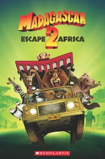 Scholastic Popcorn Readers Level 2 Madagascar 2: Escape to Africa (with CD)