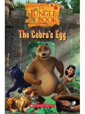 Scholastic Popcorn Readers Level 1 The Jungle Book: The Cobra's Egg
