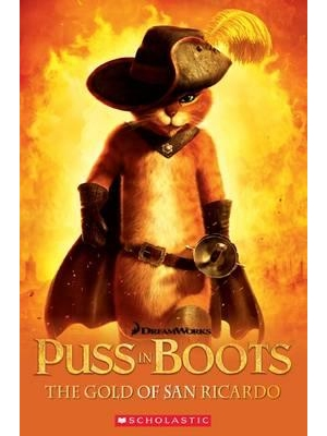 Scholastic Popcorn Readers Level 3 Puss in Boots: The Gold of San Ricardo