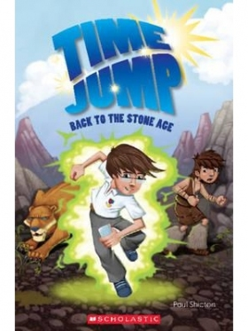 Scholastic Popcorn Readers Level 2 Time Jump: Back to the Stone Age (with CD)