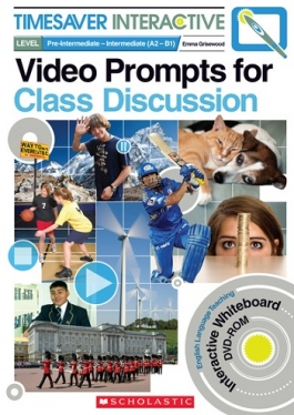 Scholastic Timesaver Interactive Video Prompts for Class Discussion