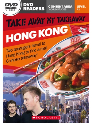 Scholastic DVD Readers CEF Level A2 Take Away My Takeaway: Hong Kong & DVD