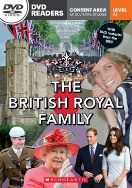 Scholastic DVD Readers Level 2 The British Royal Family & DVD
