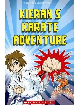Scholastic Popcorn Readers Level 3 Kieran's Karate Adventure