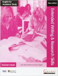 English for Academic Study Extended Writing & Research Skills Teacher's Book