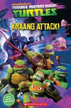 Scholastic Popcorn Readers Level 2 Teenage Mutant Ninja Turtles: Kraang Attack!