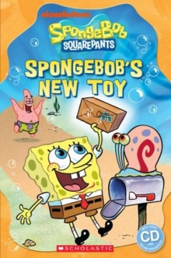 Scholastic Popcorn Readers Starter SpongeBob Squarepants: SpongeBob's New Toy (with CD)