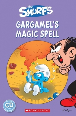 Scholastic Popcorn Readers Level 1 Gargamel's Magic Spell (with CD)