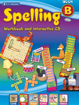 Spelling: Workbook and interactive CD: Book B *** 旧版 ***