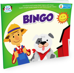 Super Simple Songs Picture Books - BINGO