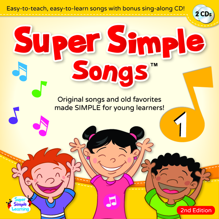 Super Simple Songs 'Original' Series: CD1 (第2版)