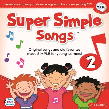 Super Simple Songs 'Original' Series: CD2 (2nd Edition)