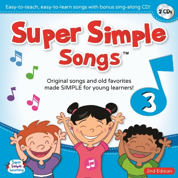 Super Simple Songs 'Original' Series: CD3 (2nd Edition)