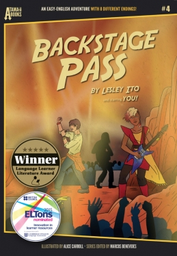 Atama-ii Books: #4 Backstage Pass