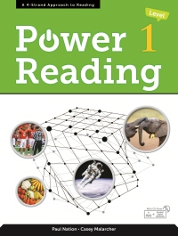 Power Reading Level 1 Student Book with MP3 & Student Digital Materials CD