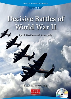 World History Readers 5-8:Decisive Battles of World War II with Audio CD