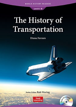 World History Readers 6-8:The History of Transportation with Audio CD