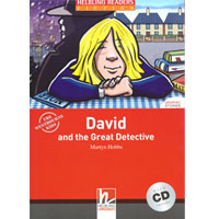 Helbling Readers Red Series: Level 1  David and the Great Detective with CD