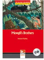 Helbling Readers Red Series: Level 2 Mowgli's Brothers with CD