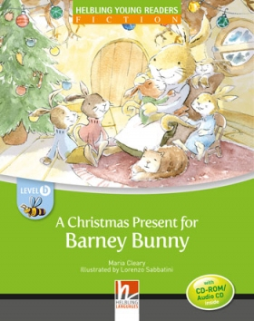 Helbling Young Readers Level B: A Christmas Present for Barney Bunny (with CD)