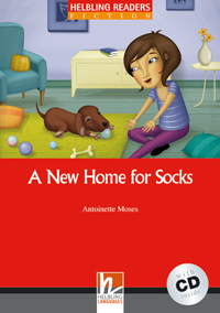 Helbling Readers Red Series: Level 1 A New Home for Socks with CD