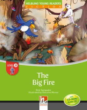 Helbling Young Readers Level A: The Big Fire (with CD)