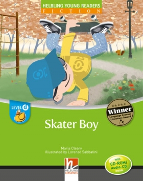 Helbling Young Readers Level D: Skater Boy (with CD)