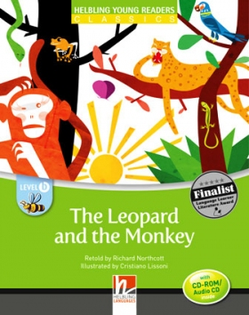 Helbling Young Readers Level B: The Leopard and the Monkey (with CD)