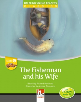 Helbling Young Readers Level C: The Fisherman and his Wife (with CD)