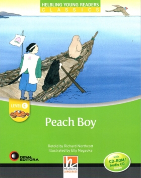 Helbling Young Readers Level C: Peach Boy (with CD)