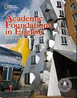 Academic Foundations in English Building a Career in Science 1 Student Book