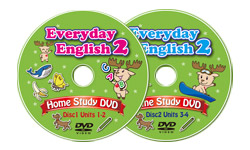 Everyday English 2 Home Study DVD Set (2 DVDs)