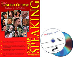 The English Course Speaking Starter and DVD (Book + 2 DVD Set)