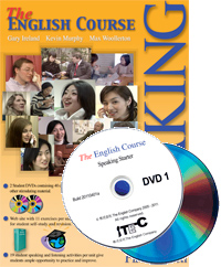 The English Course Speaking Book One and DVD (Book + 2 DVD Set)