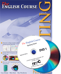 The English Course Writing Book One and DVD (Book + 2 DVD Set)