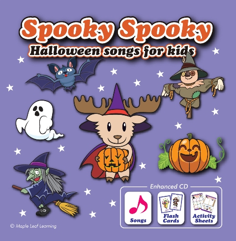 Spooky Spooky Halloween Songs for Kids エンハンスト CD
