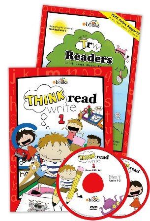 Think Read Write 1 Student Book (with CD), TRW 1 Readers and Home DVD Set ≪3点セット≫
