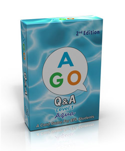 AGO Q&A 2nd Edition Aqua (Level 1) [AGO Card Game]