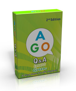 AGO Q&A 2nd Edition Green (Level 2) [AGO Card Game]