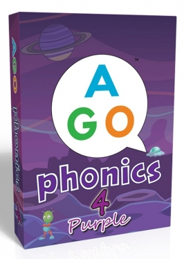 AGO Phonics Purple (Level 4) [AGO Card Game]