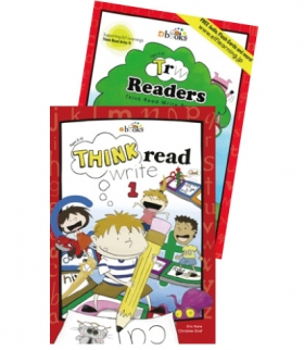 Think Read Write 1 Student Book (with CD) and TRW 1 Readers - 2017 Edition ≪2点セット≫