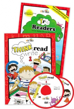 Think Read Write 1 Student Book (with CD), TRW 1 Readers - 2017 Edition and Home DVD Set ≪3点セット≫